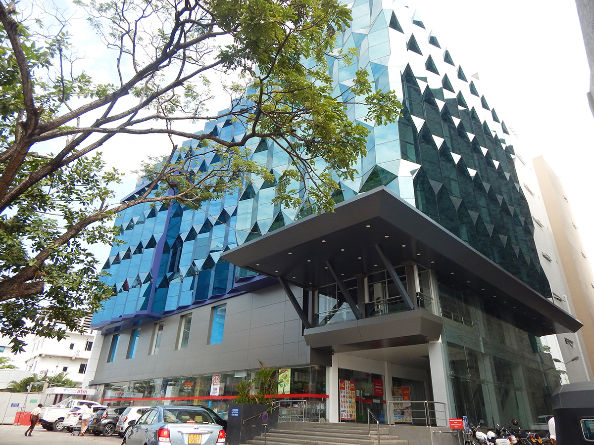 Sentra Super City Building – Kotte